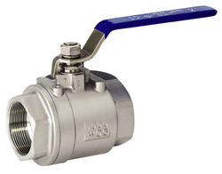 Flowcheck and Zoloto SS Screwed End Ball Valve