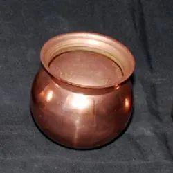 Golden Plain 7 inch Copper Lota