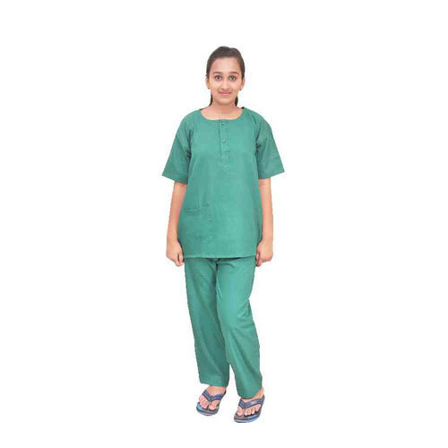 873c44e6221 Green Women Scrub Suit, Rs 700 /set, SRS Textiles | ID: 15989148033