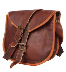 Brown Crafat Women's Pure Leather Purse Satchel Handbag Tote Bag Sling, Pure Leather: Yes