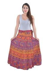 Indian Multi Camel Elephant Cotton Mandala Rapron Skirts
