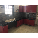 L Shape Modular Kitchen