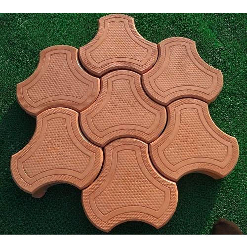 Cosmic Shape Interlocking Pavers, For Pavement And Landscaping