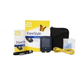 Freestyle Optium Neo H Glucometer, For Clinic, 7 Days