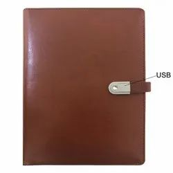 Planner Diary Power Bank with USB