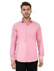 Dark Pink Color Casual Shirt