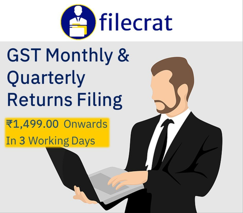 Pan Card Tax Consultant GST Monthly & Quarterly Returns, In Pan India