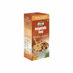 Butter Scotch Ice Cream, Packaging Type: Carton