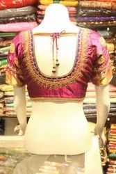 Bridal Blouse With Beads Work