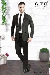 Party Black Men's Corporate Suit