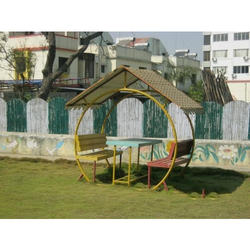Outdoor Hut Shape Bench
