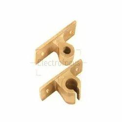 Brass Rod Brackets