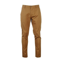 Yellow Mens Cotton Trousers