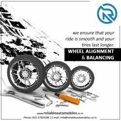 Wheel Alignment & Balancing Starts From