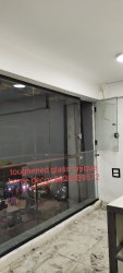 Toughned Transparent Toughened Glass Partitions