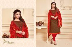Unstitch Stylish Dress Material Salwar Suit
