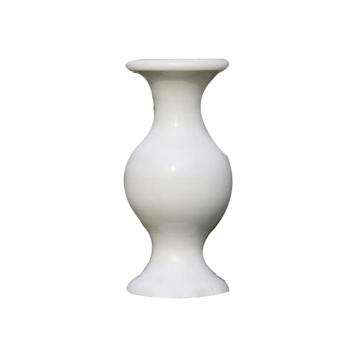 White Round Fiberglass Tall Vase Pot Rds Technology Id 17476147948