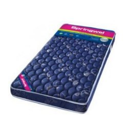 Plain Springwel Orthopadic Ultrabond Bed Mattress, Thickness: 5 Inch