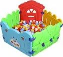 Multicolor Plastic Elephant Ball Pool, For Pre School Nd Soft Play, In Indoor