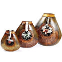 Metal Flower Vases