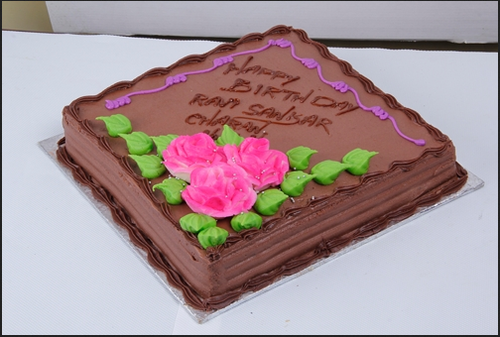 Bakery Caterer Of Black Current Fresh Cream Cake Chocolate