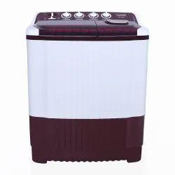 Lloyd 8 kg Semi Automatic Top Load Washing Machine, LWMS80BD, White
