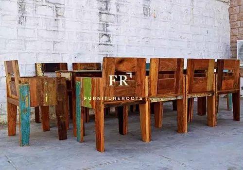 Restaurant Furniture Dining Set Designer Dining Set In Vintage Distress Finish Hotel Dining Sets At Rs 26500 Set Dining Set Id 20620129988
