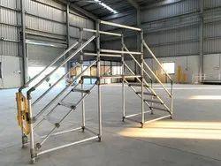 Cross Over Platform Ladders