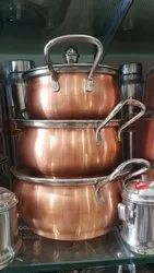 Copper Coated Dish Set