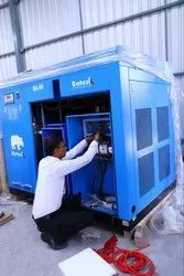 Rotary / Screw Air Compressor Service Provider in Pan India