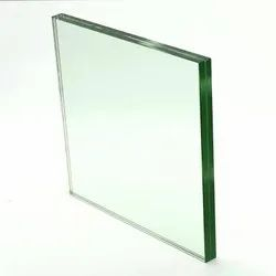 Transparent Laminated Toughened Glass, for Windows, Thickness: 6-12 Mm