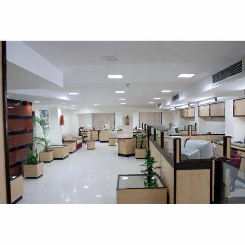 Bank office interior designing service