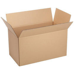 Plain Corrugated Packaging Box