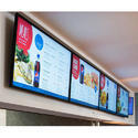 Rectangle Acrylic Cafe Digital Signage