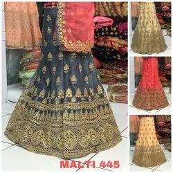 Heavy Net Embroidery Work Lehenga Choli