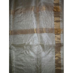 Tussar Silk Dupatta- Natural