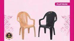 Platinum Plastic Chair