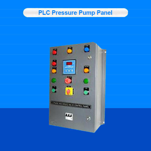 PLC Pressure Pump Panel