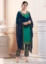 Straight Salwar Kameez For Eid