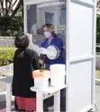 Virus Testing Booth