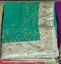 Ladies Designer Light Green Saree