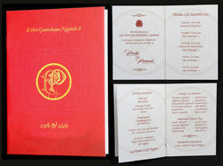 Red Paper Invitation Cards