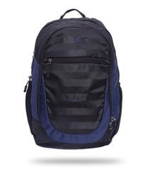 Zwart  College Laptop Backpack