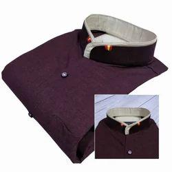 Men's Cotton Stand Collar Shirt
