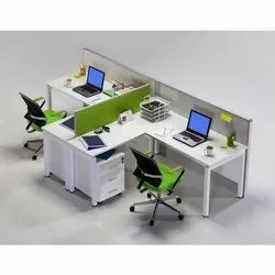 Wood Modular Office Workstation