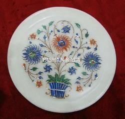 Stone Marble Inlay Plate