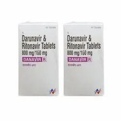 Danavir R - Darunavir & Ritonavir Tablets 800mg / 100mg