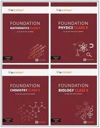 Foundation CLASS 9 Books - Physics, Chemistry, Mathematics, Biology