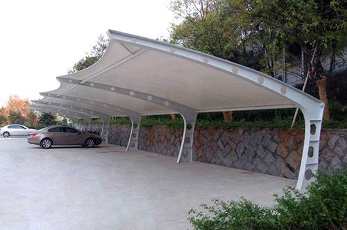Parking Shades Tensile Structures At Rs 450 Square Feet