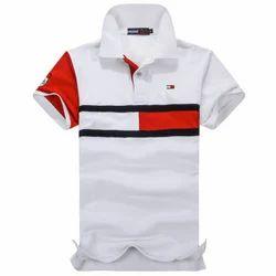 Cotton Casual Wear Kids Fancy Collar T Shirts, Size: 3-5 years